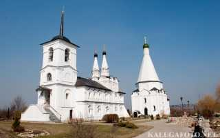 Церкви, монастыри и усадьбы калужской области.