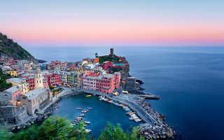 Великолепные пейзажи италии.