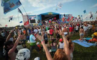 Самые крупные рок-фестивали.