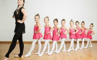 Где находится балетная школа для детей. Хореография
