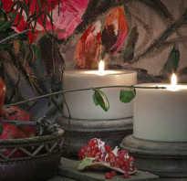 Задуть свечу во сне. Свеча в руке