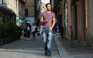 Размеры одежды мужские брюки