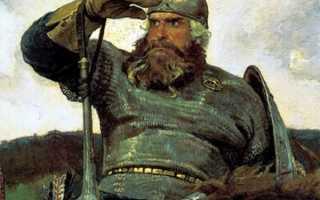 Русские супергерои: Три богатыря. Василий Буслаев