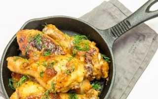 Как приготовить диетическую курицу в духовке.