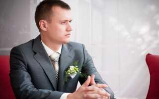 Мужские свадебные прически