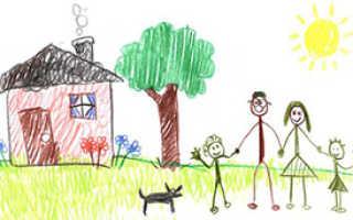 Тест рисунок семьи научная статья. Тест «Моя семья»