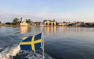 Голубой синий красный флаг. Какой флаг у Швеции