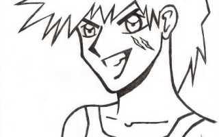 Уроки рисования в стиле аниме.