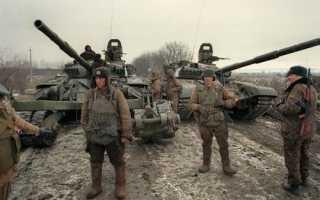 Когда была вторая чеченская. Чеченская война