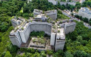 Ховринская больница. Заброшенная ховринская больница