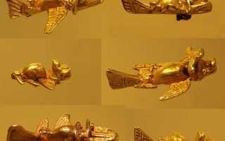 Самолеты древних. Колумбийские самолетики