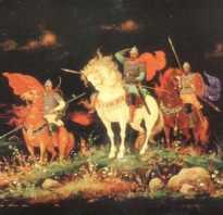 Герои былин. Русские богатыри