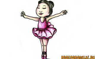 Детские рисунки балерины. Материалы и инструменты