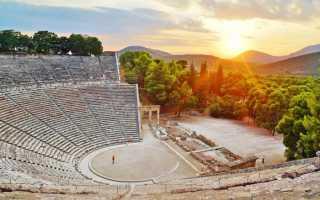 Рождение древнегреческого театра. Трагедия и комедия