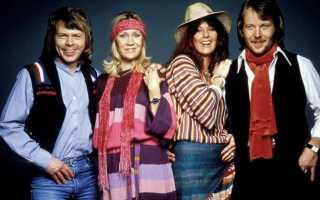 Чем является группа авва. Группа ABBA