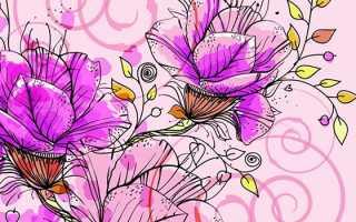 Рисунок цветов в вазе для детей. Ее типы и формы