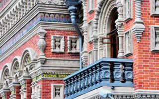 Главный дом городской усадьбы Н.В. Игумнова