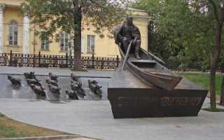Памятник шолохову и тонущим лошадям кто автор.