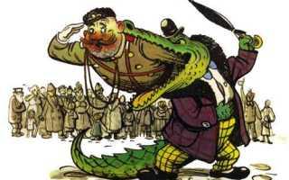 Чуковский крокодил. Сказка в стихах — Крокодил