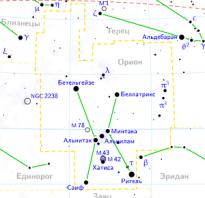 Названия созвездий на латыни. Созвездие