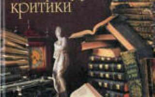 История русской литературной критики. Прозоров В.В