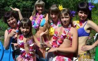 Гавайские танцы хула. Костюмы для хула