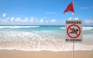 Значение флагов на пляжах курортов